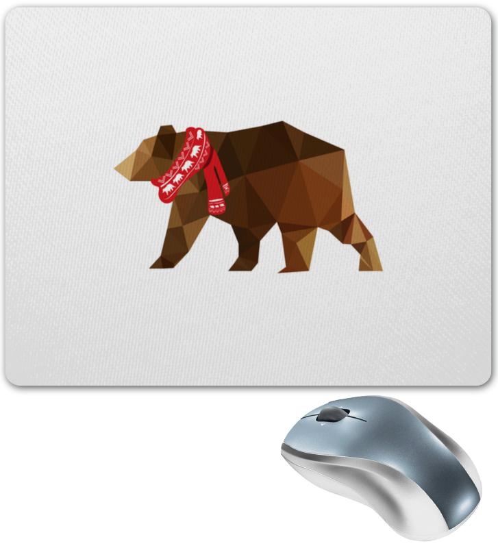 Коврик для мышки Printio Медведь цена 2017
