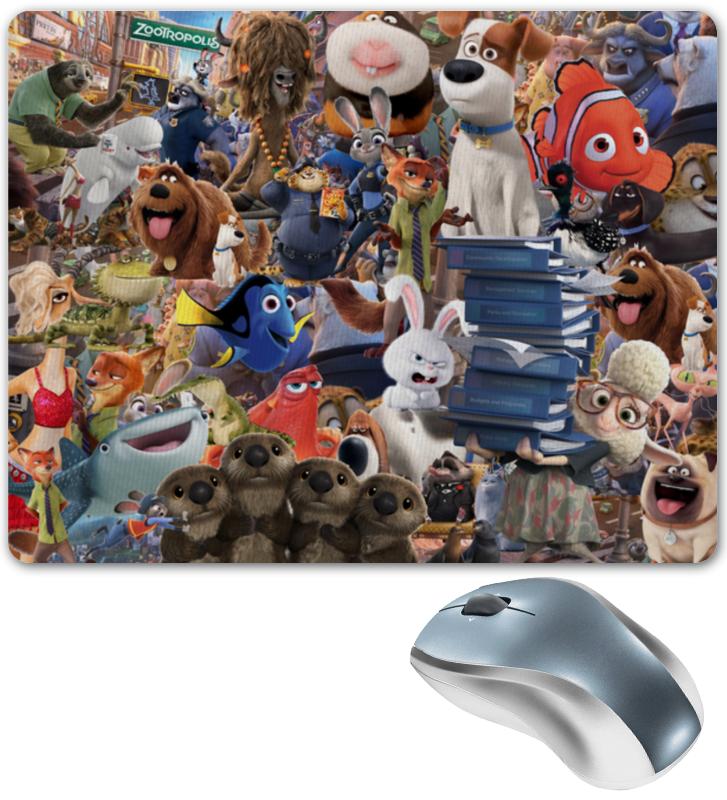 Коврик для мышки Printio Мультфильмы