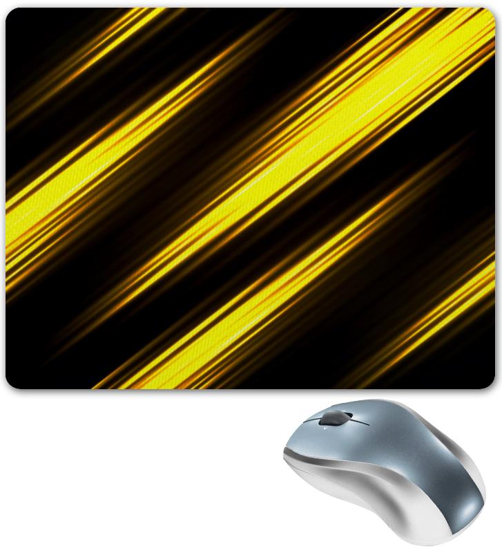 Коврик для мышки Printio Желтые полосы