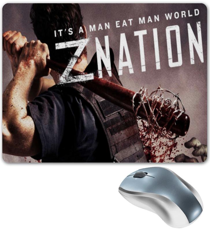 Коврик для мышки Printio Нация z / z nation alien nation