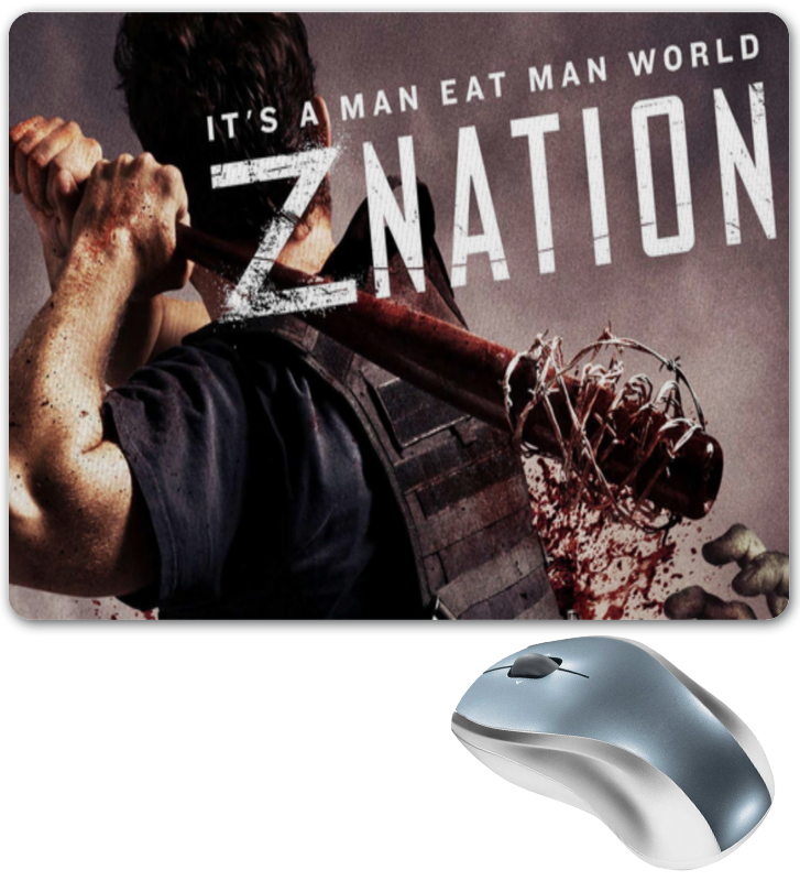 Коврик для мышки Printio Нация z / z nation luomu z