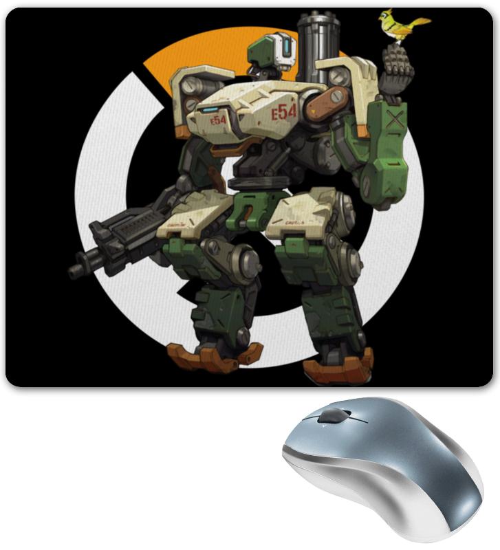 Коврик для мышки Printio Overwatch bastion / овервотч бастион сумка с полной запечаткой printio overwatch bastion овервотч бастион