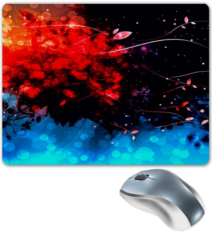 Коврик для мышки Printio Сине-красные краски