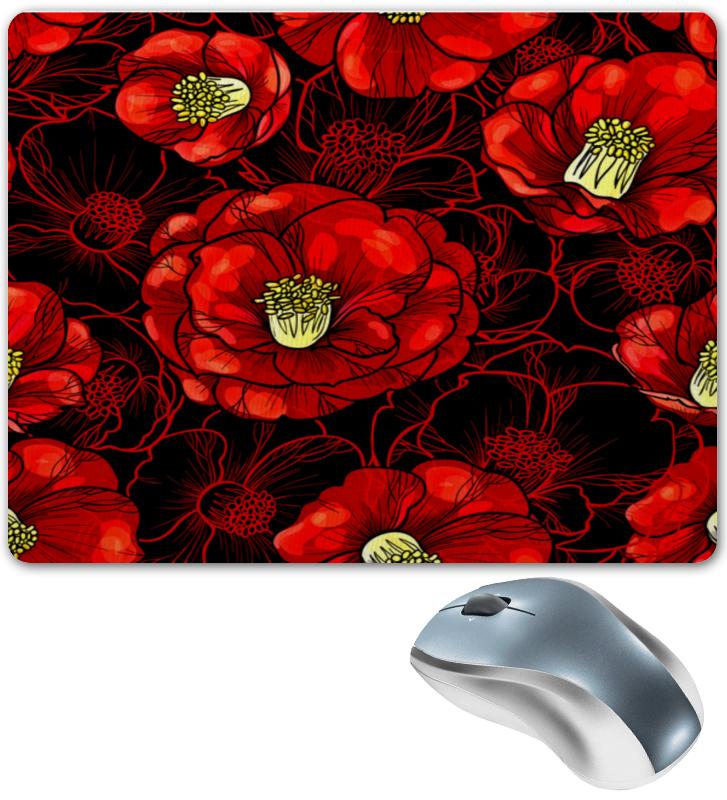 Коврик для мышки Printio Цветы мака коврик для мышки printio цветы мака