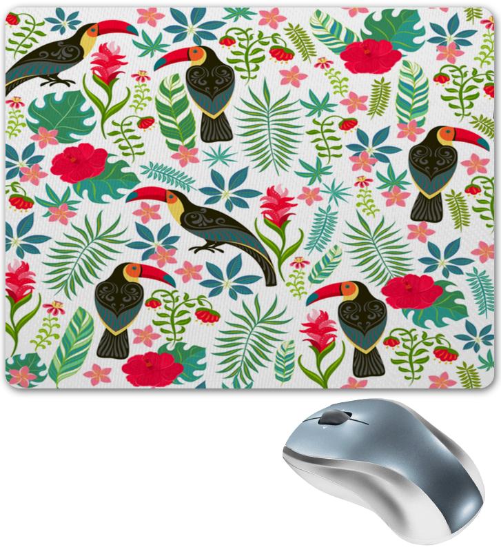 Коврик для мышки Printio Птицы и тропики тропики релакс раскраска