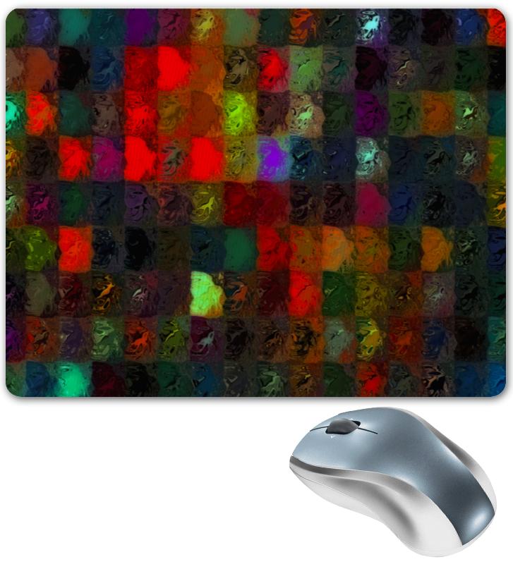 Коврик для мышки Printio Кубики красками цена