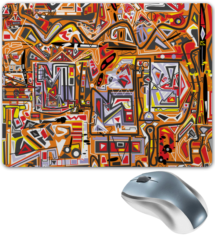 Коврик для мышки Printio Оранжевый дом. коврик для мышки printio дом на холме