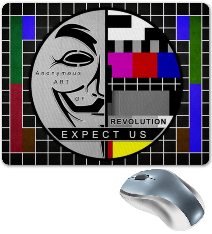 Коврик для мышки Printio Anonymous anonymous celebrity