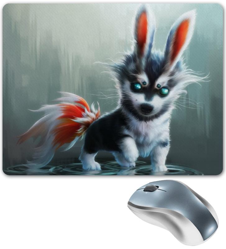 Коврик для мышки Printio Собака-мутант костюм обаятельной снегурочки 40 44