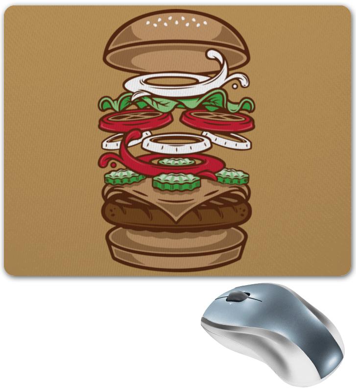 Коврик для мышки Printio Burger/бургер коврик для мыши tnb tsnburger бургер