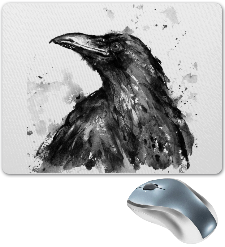 Коврик для мышки Printio Raven brand коврик для мышки printio мотивация