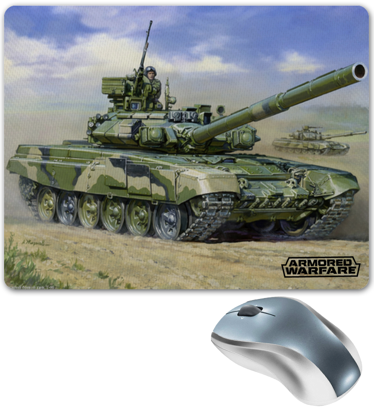Коврик для мышки Printio Armored warfare блокнот printio armored warfare