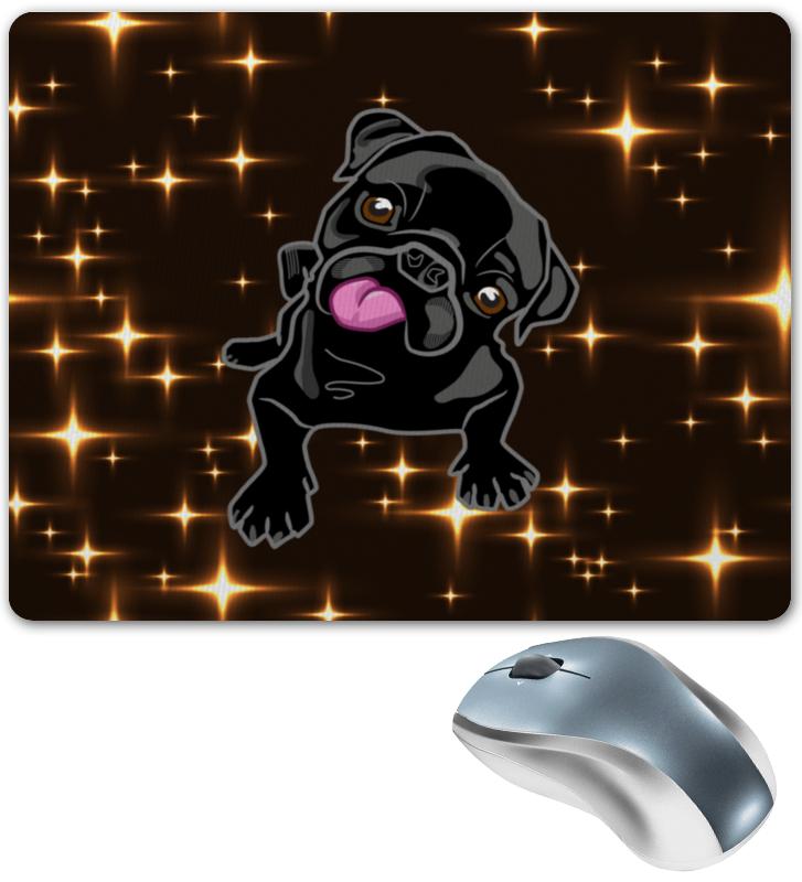 Коврик для мышки Printio Черный пес коврик для мышки printio пес летчик