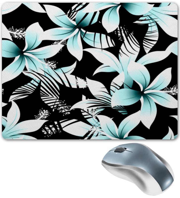 Коврик для мышки Printio Голубые цветы