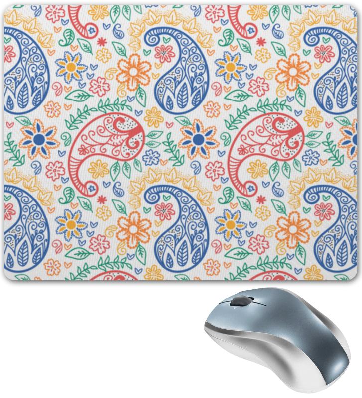Коврик для мышки Printio Разноцветные пейсли (индийский огурец) коврик для мышки printio разноцветные пейсли индийский огурец