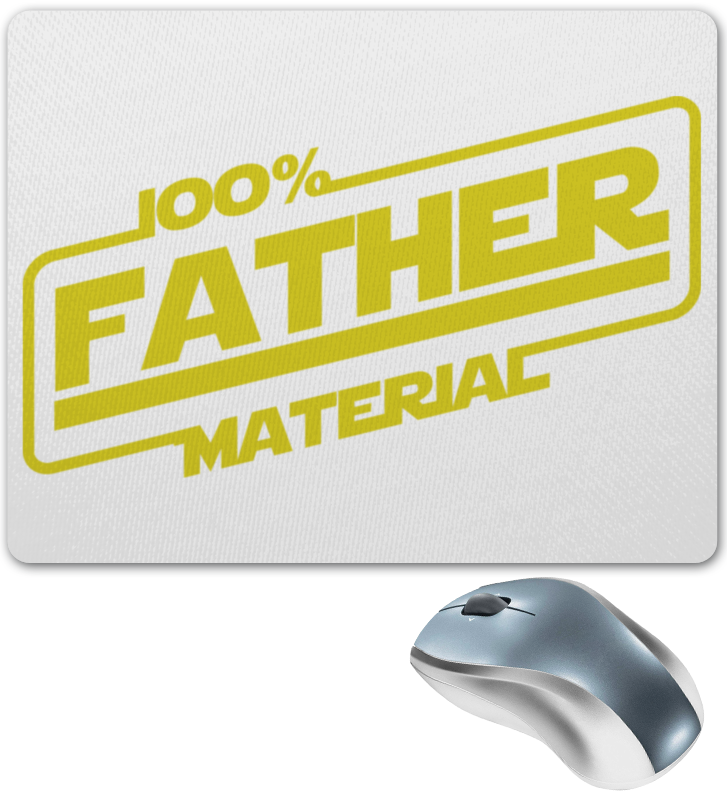 Коврик для мышки Printio 100% father lamtop 100