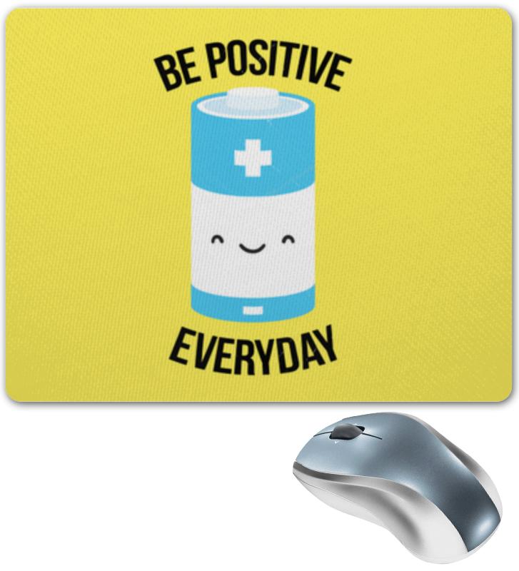 Коврик для мышки Printio Будь позитивным каждый день каждый день кальмар сушеный каждый день 18г