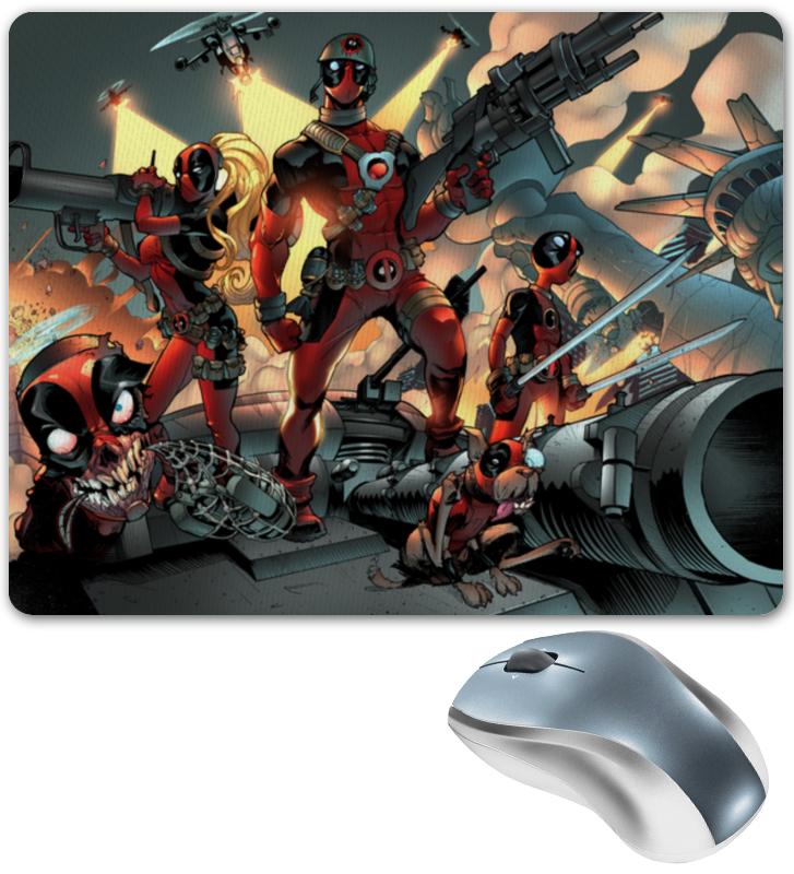 Коврик для мышки Printio Deadpool family цена