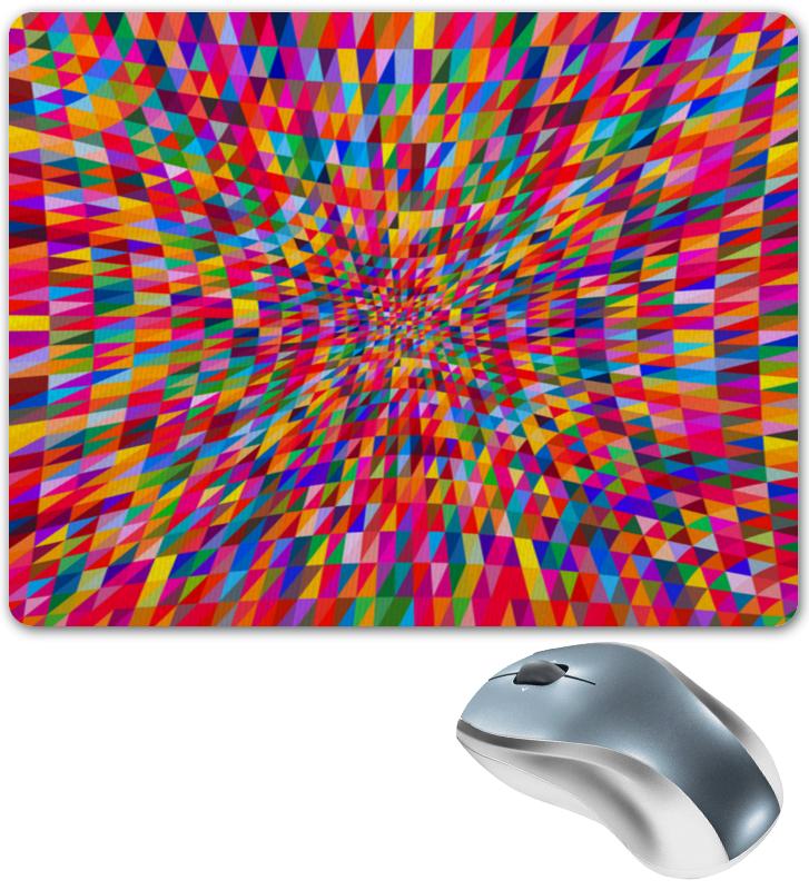 Коврик для мышки Printio Абстракция треугольники
