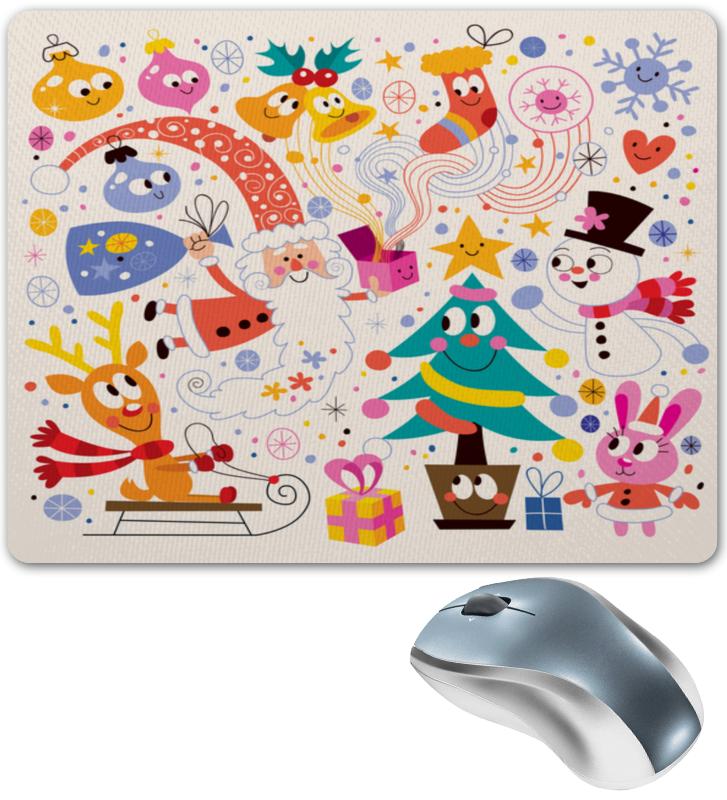 Коврик для мышки Printio Зимние праздники