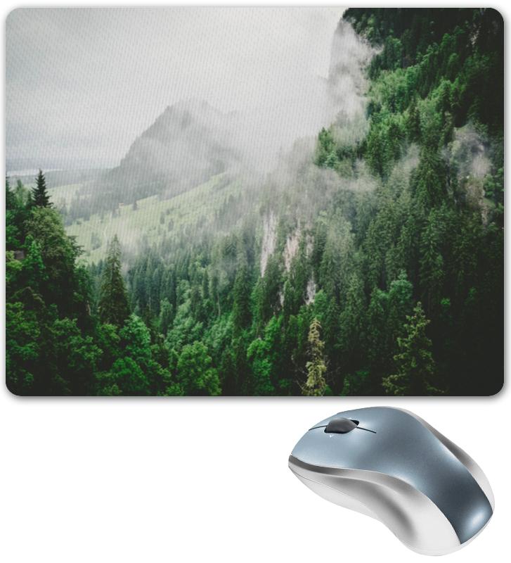 Коврик для мышки Printio Туманные горы коврик для мышки printio горы у берега