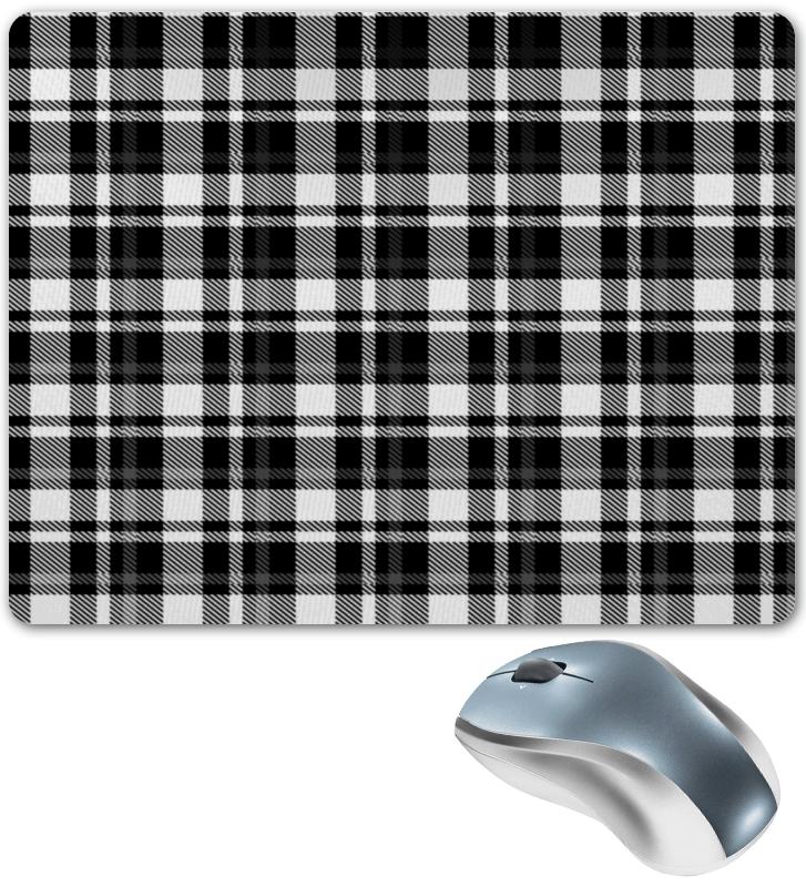 Коврик для мышки Printio Черно-белая клетка