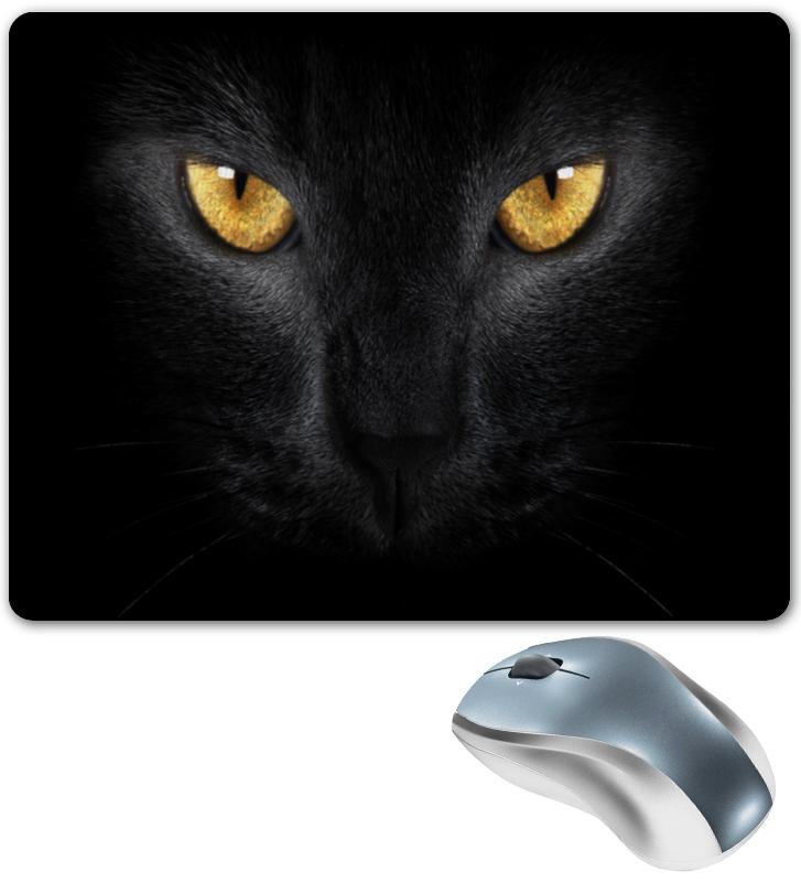 Коврик для мышки Printio Черная кошка коврик для мышки printio серая кошка