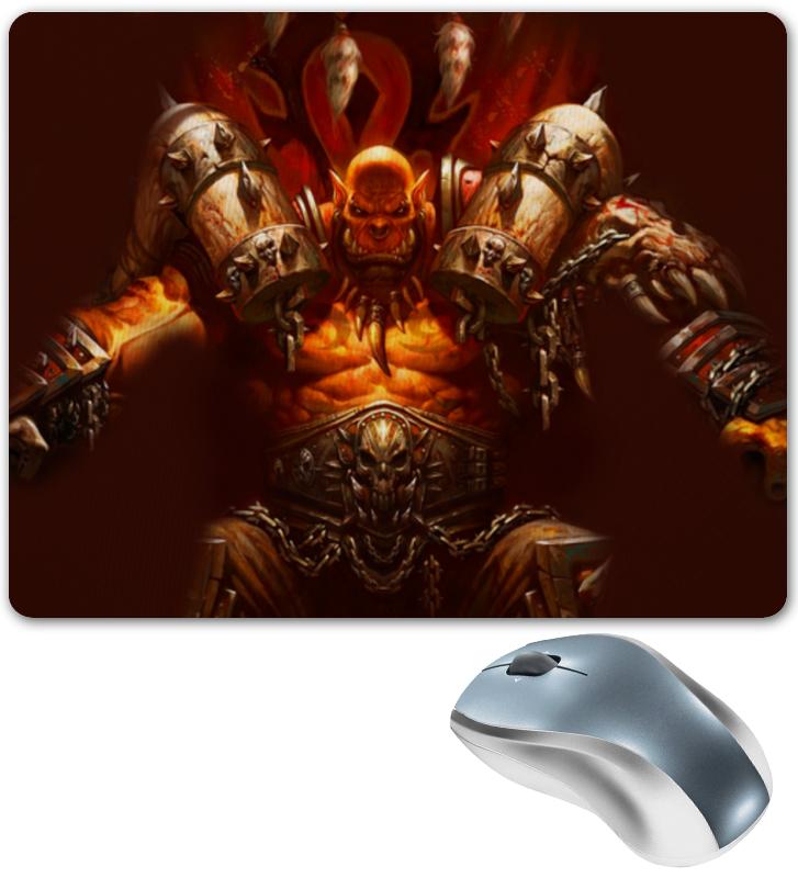 Коврик для мышки Printio Warcraft collection: ork