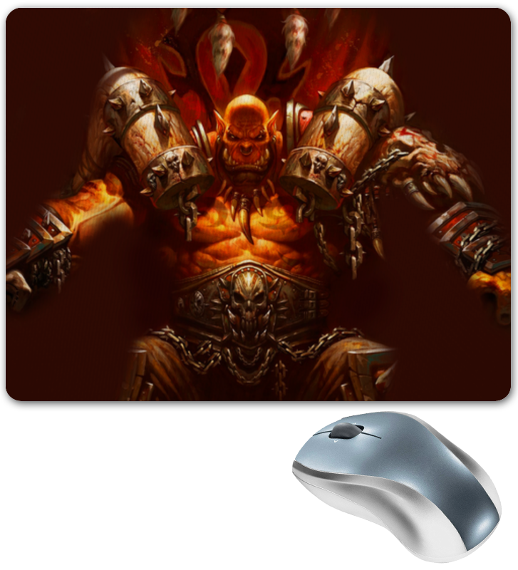Коврик для мышки Printio Warcraft collection: ork orly blush collection 490 цвет 490 cheeky