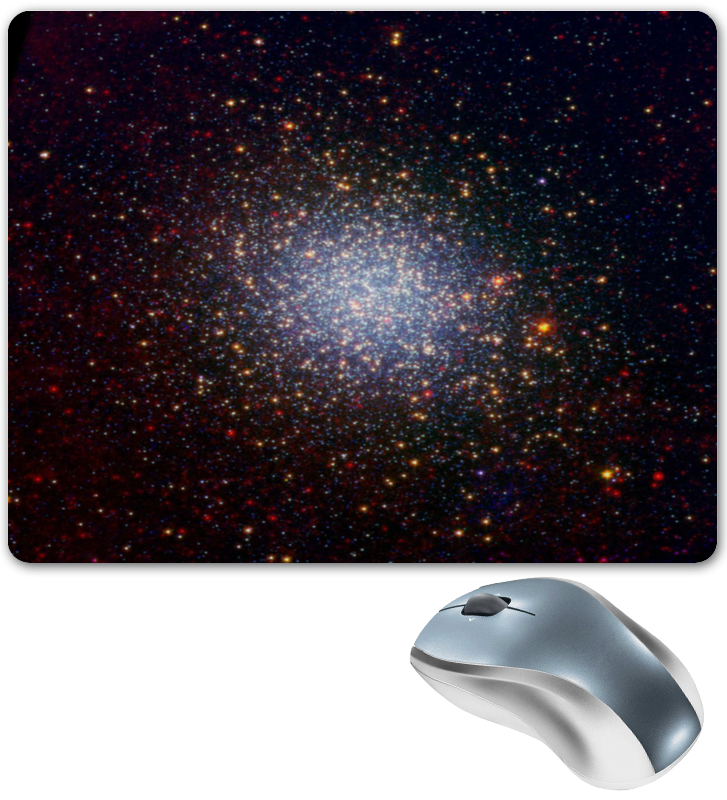Коврик для мышки Printio Вспышки звезд