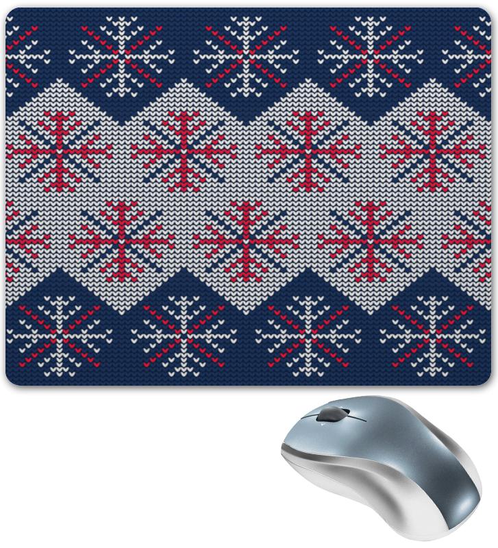 Коврик для мышки Printio Цветные снежинки костюм маленькой снежинки 32