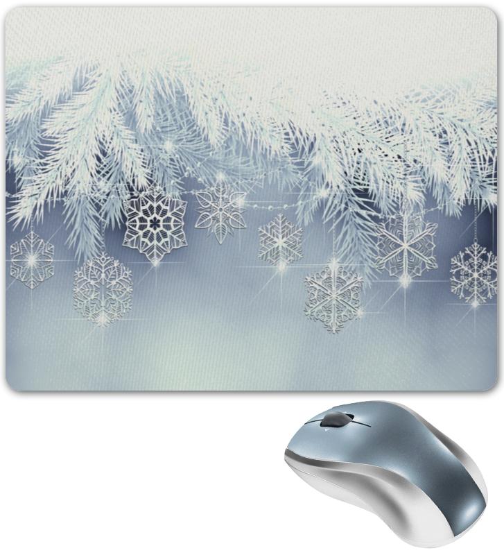 Коврик для мышки Printio Снежная елка