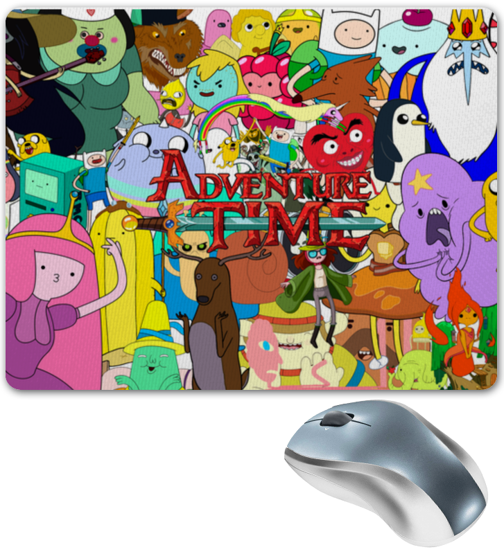 Коврик для мышки Printio Adventure time худи print bar adventure time