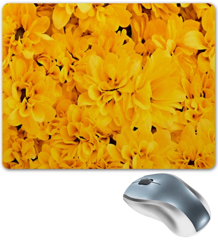 Коврик для мышки Printio Желтые цветы reima желтые легинсы