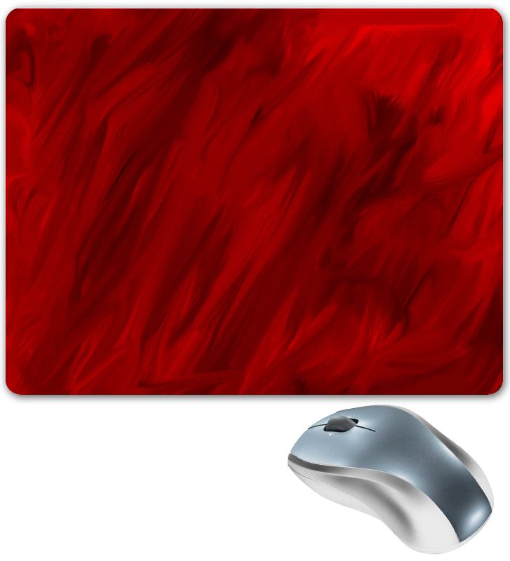 Коврик для мышки Printio Красные краски коврик для мышки printio красные лепестки