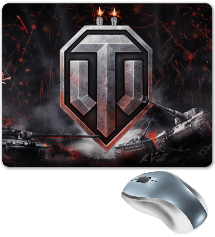 купить Коврик для мышки Printio World of tanks по цене 430 рублей