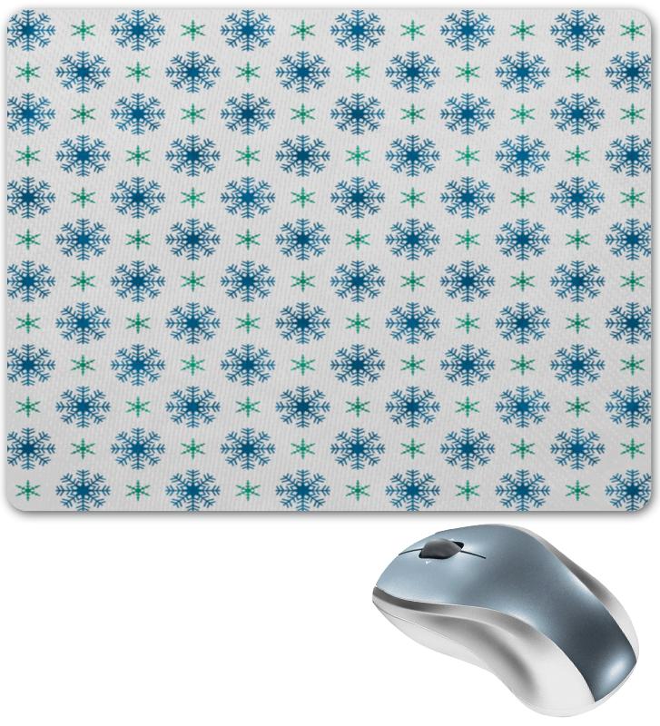 Коврик для мышки Printio Падающие снежинки костюм маленькой снежинки 32