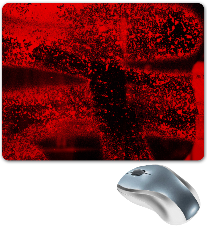 Коврик для мышки Printio Красные брызги коврик для мышки printio красные лепестки