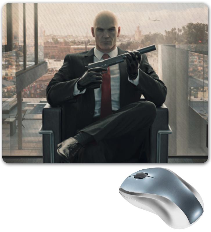 Коврик для мышки Printio Hitman видеоигра для ps4 hitman
