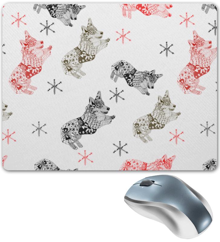 Коврик для мышки Printio Зимняя прогулка