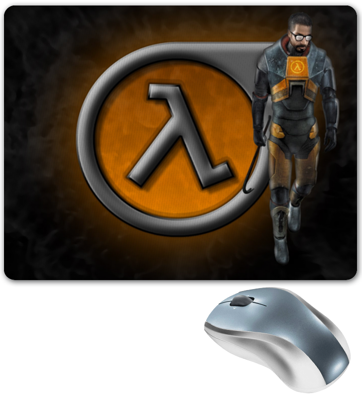 Коврик для мышки Printio Half -life half a life