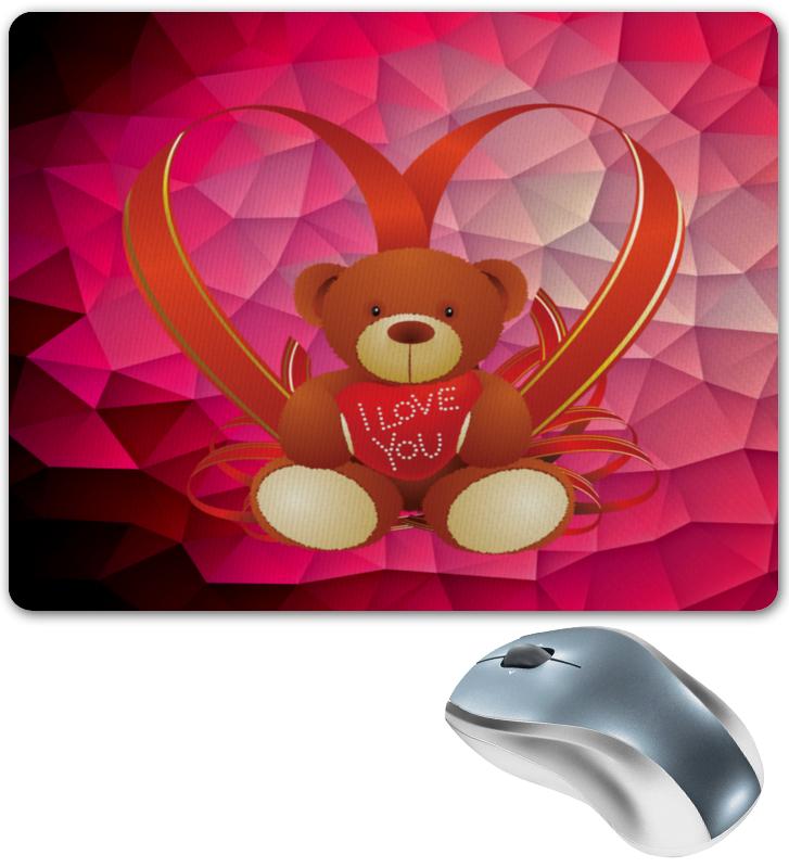 Коврик для мышки Printio Плюшевый мишка