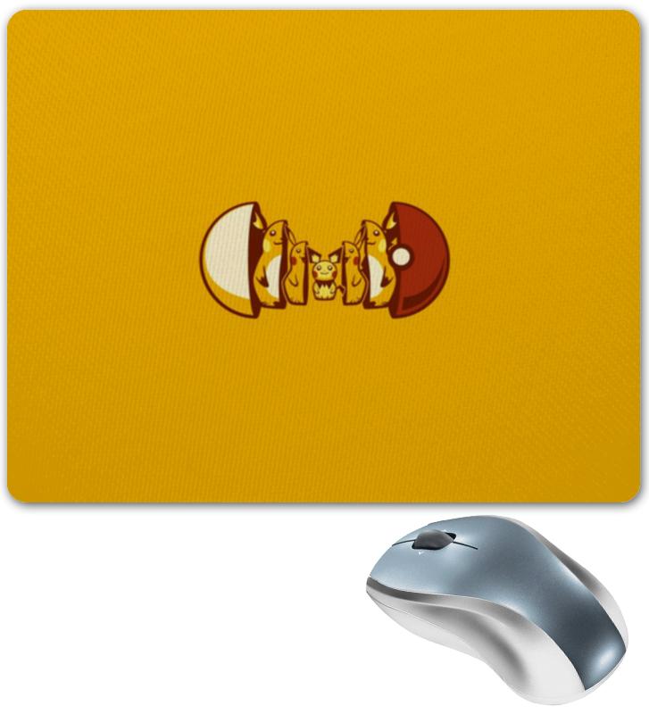 лучшая цена Коврик для мышки Printio Pokemon go
