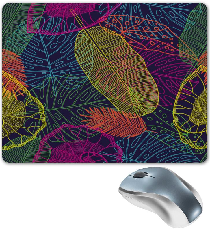 Коврик для мышки Printio Узор листьев коврик для мышки printio узор листьев