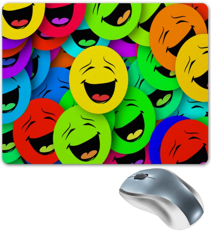 Коврик для мышки Printio Смайлы чехол для карточек смайлы дк2017 096