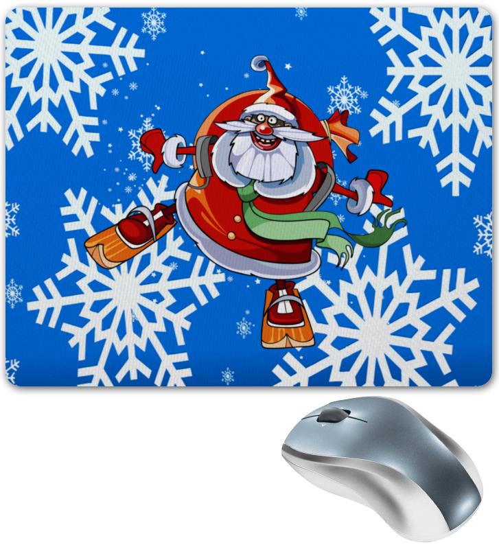 купить Коврик для мышки Printio Санта клаус по цене 328 рублей