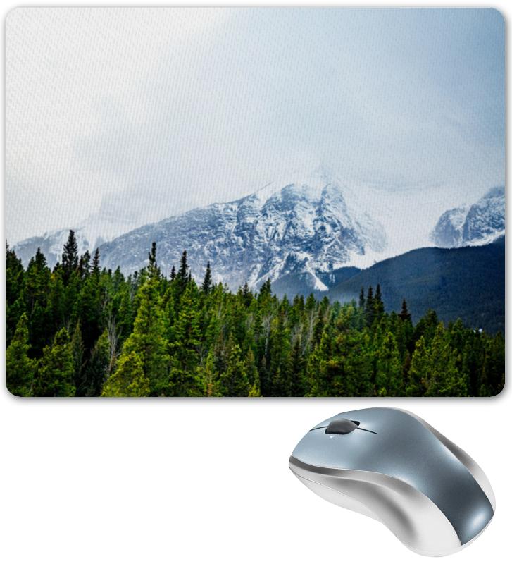 Коврик для мышки Printio Снежные горы снежные барсы
