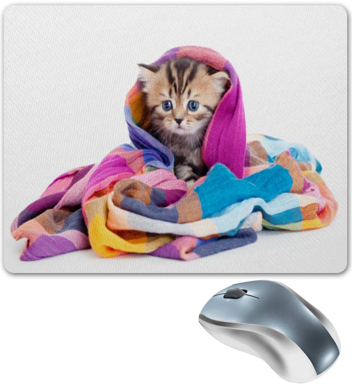 Коврик для мышки Printio Котенок егерь последний билет в рай котенок