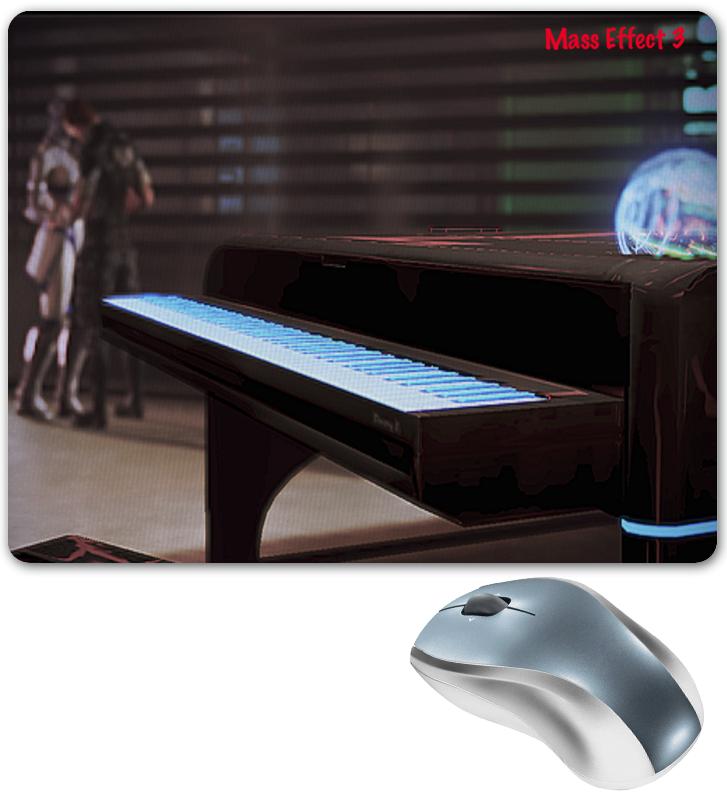 Коврик для мышки Printio Mass effect 3 aroma ahar 3 harmonizer pitch shifter electric guitar effect pedal