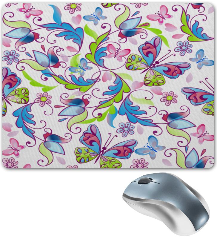 Коврик для мышки Printio Цветы и бабочки платье летнее printio бабочки и цветы
